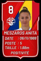 Anita Meszaros - A.L.Aplemont Basket Le Havre