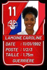 Caroline Lamoine - A.L.Aplemont Basket Le Havre