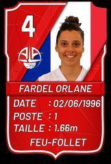 Orlane Fardel - A.L.Aplemont Basket Le Havre