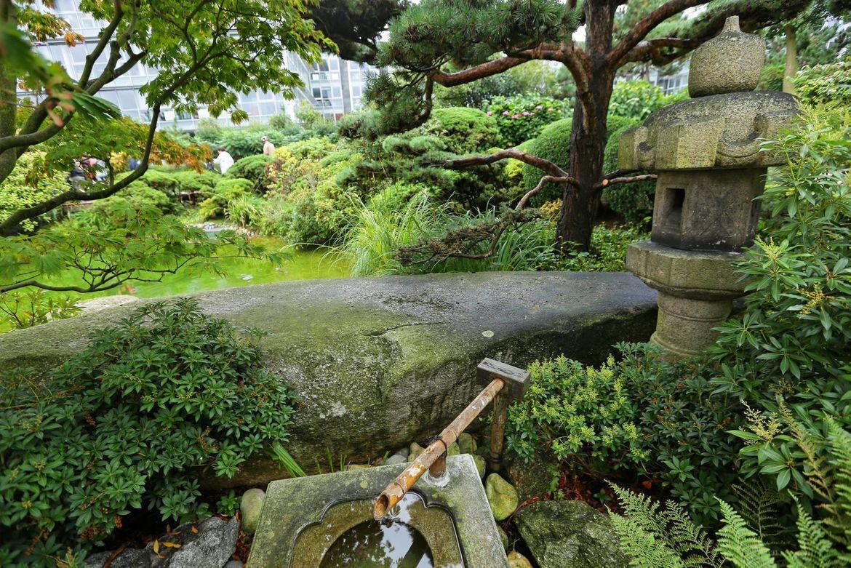 Au fil des quais du terre plein de la barre port 2000 for Jardin japonais le havre