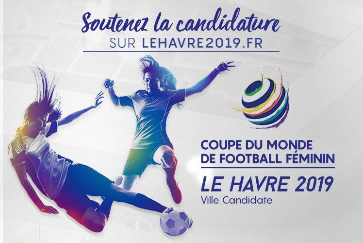 Coupe du monde f minine fifa 2019 le havre candidat site officiel de la ville du havre le - Coupe europe foot feminin ...