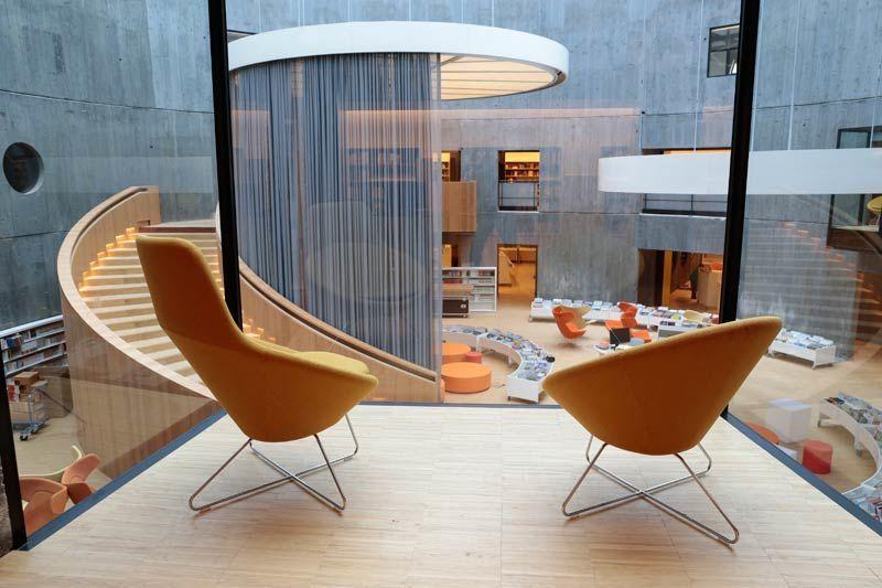 biblioth que oscar niemeyer site officiel de la ville du. Black Bedroom Furniture Sets. Home Design Ideas