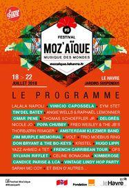 Programme Festival moZ'aïque 2018
