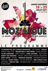 Couverture programme Moz'aïque 2017