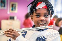 Miracle, élève à l'école Renaissance du Havre, participe au projet DÉMOS