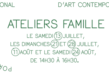 [à valider]Ateliers Famille autour de l'exposition Stephan Balkenhol