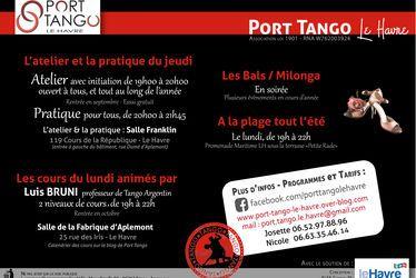[à valider]Les Ateliers de Port Tango