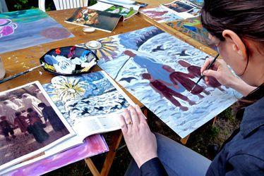 [à valider]Cours de peinture, dessin et volume