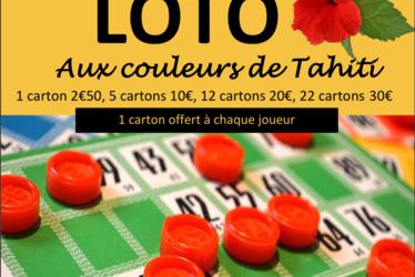 [à valider]LOTO AUX COULEURS DE TAHITI