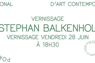 [à valider]Vernissage de l'exposition Stephan Balkenhol, Le Portique