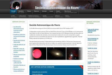 Societe astronomique du havre