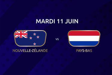 Nouvelle-Zélande vs Pays-Bas