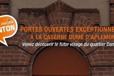 Centre ancien - Danton : Portes ouvertes de la caserne Dumé d'Aplemont