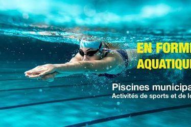 En forme aquatique : les activités de sports et de loisirs dans les piscines municipales