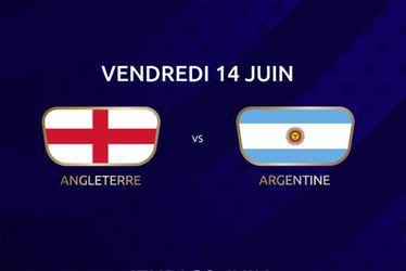Angleterre vs Argentine
