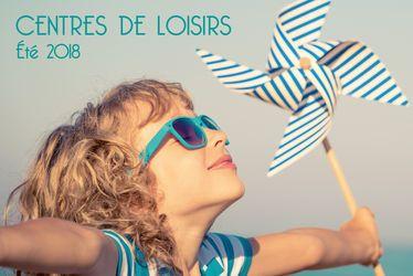 Inscrivez votre enfant dans les centres de loisirs pour les vacances d'été 2019