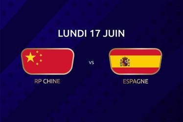 Chine vs Espagne