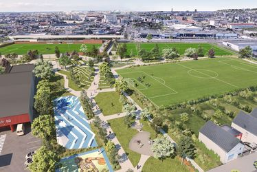 Un nouveau parc sportif paysager dans les Quartiers Sud