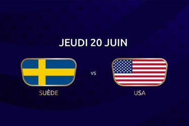 Suède vs USA