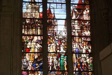 Vitrail Henri IV Cathédrale Notre-Dame, Le Havre