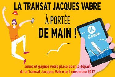 Jeu concours – Départ TJV 2017 : gagnez votre place pour le départ de la Transat !