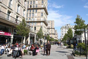 Les rues piétonnes du Havre