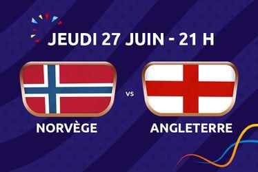 Norvège v. Angleterre