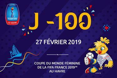 J-100 avant la Coupe du Monde Féminine de la FIFA, France 2019™