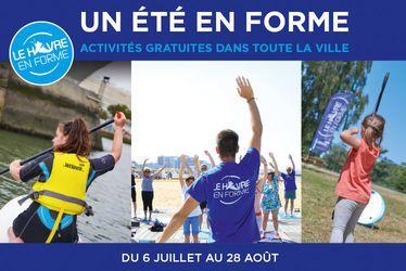 Avec Un Été En Forme, 30 activités physiques et sportives gratuites chaque jour