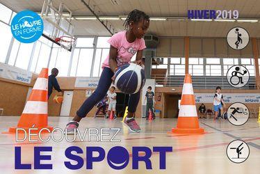 Découvrez le Sport - Vacances Hiver 2019