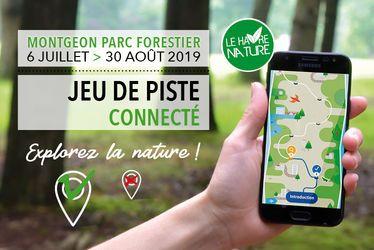 Avec l'appli Baludik, explorez le patrimoine naturel de la forêt de Montgeon
