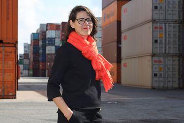 Claire Le Breton, artiste plasticienne a mis le cap sur l'Italie