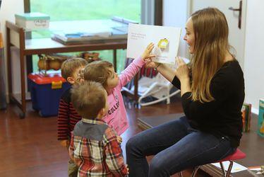 Lis avec moi à Bléville, une opération pour initier les très jeunes enfants à la lecture