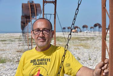 Christian Cuomo a conçu la déambulation enflammé en ouverture d'Un Été au Havre 2018