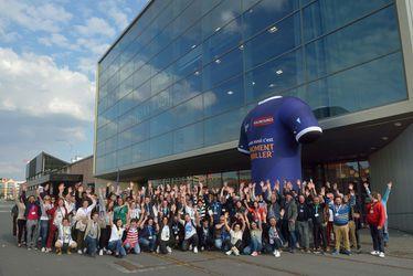 Les 270 volontaires de la Team LH réunies