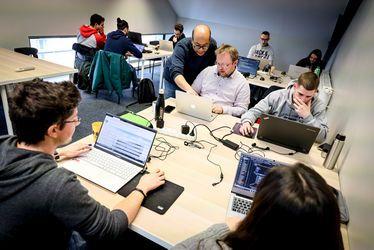 Sur le campus du Havre, LA MANU - L'école des métiers du numérique - récrute pour ses prochaines formations de développeurs ou designers web