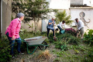 Trois nouveaux jardins urbains le long de la rue d'Étretat