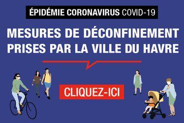 Épidémie Coronavirus - COVID-19 : la Ville du Havre présente son plan municipal