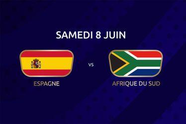 Espagne vs Afrique du Sud