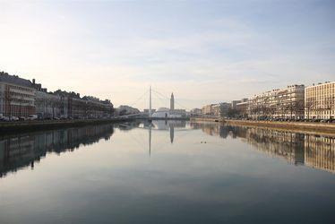 Bassin du Commerce - Passerelle Le Chevalier