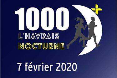 1000 D+ l'Havrais nocturne