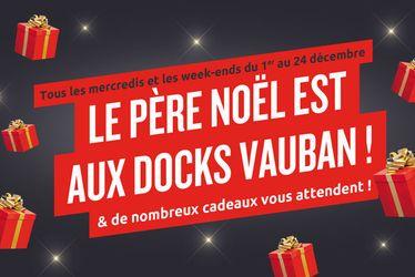 Père Noël aux Docks Vauban