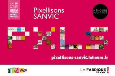 « Pixellisons Sanvic », un projet artistique à la croisée des regards