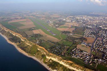 Les falaises de Dollemard au Havre
