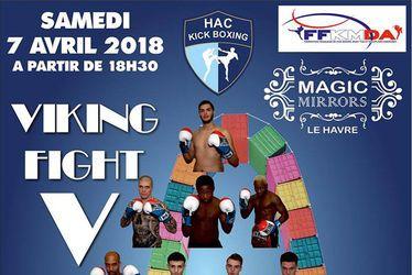"""Tournoi de kick boxing """"VIKING FIGHT 5"""""""