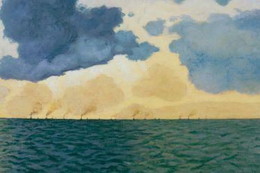 En rade du Havre de Félix Vallotton