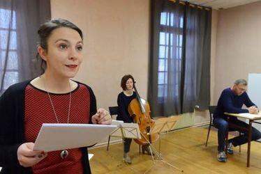 Les Havrais du Festival littéraire Le Goût des Autres 2016 : Anne-Sophie Pauchet, comédienne, metteur en scène et directrice de la Compagnie Akté