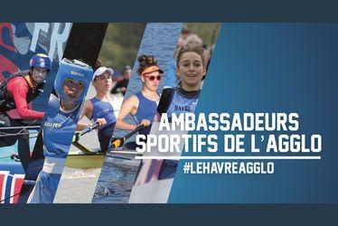 La CODAH désigne 5 ambassadeurs sportifs parmi les athlètes de haut niveau