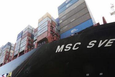 Le MSC Sveva baptisé au Havre !