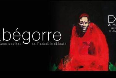 """""""Serge Labégorre, peintures sacrées ou l'abbatiale éblouie"""""""